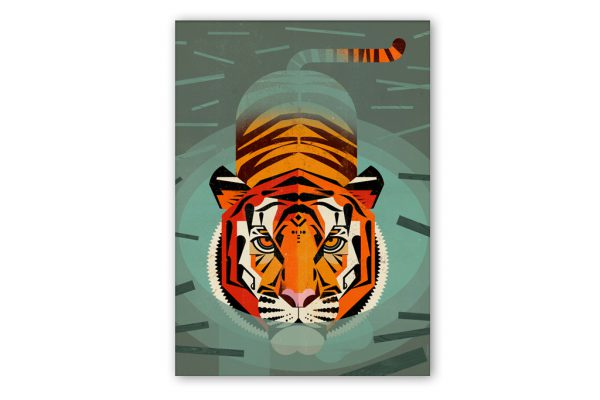 dieter-braun-swimming-tiger