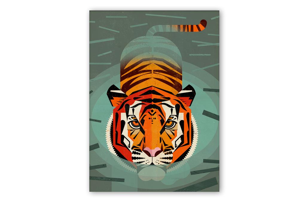dieter-braun-swimming-tiger