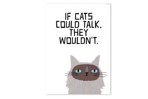 prints-eisenherz-cats-dont-talk