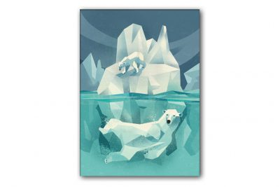 dieter-braun-swimming-polar-bear