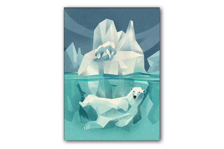 dieter-braun-swimming-polar-bear