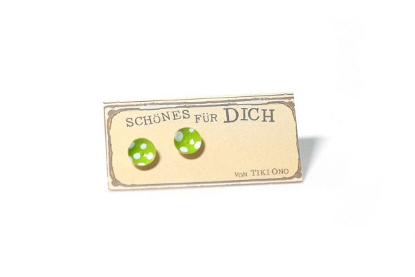 tiki-ono-ohrstecker-gruen