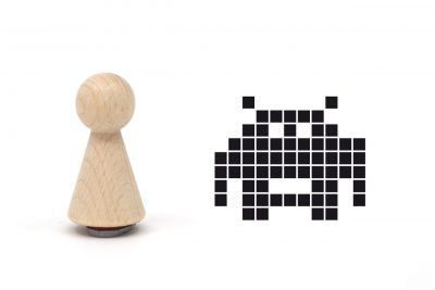 misuki-stempel-space-invader