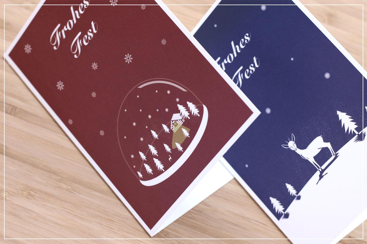 misuki Weihnachtskarten