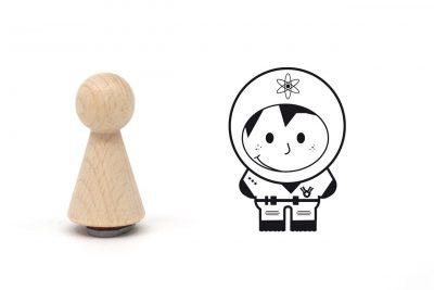 misuki-stempel-astronautin