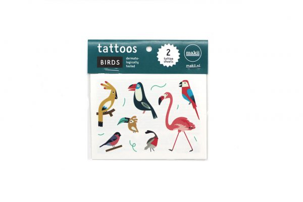 makii tattoos baby birds