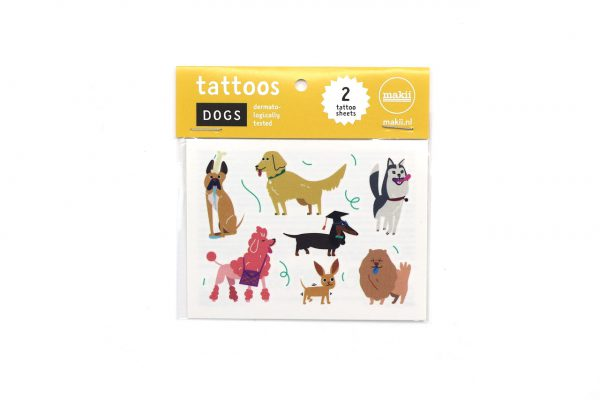 makii tattoos baby dogs