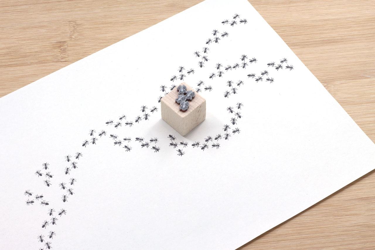 Ameisen-Stempel