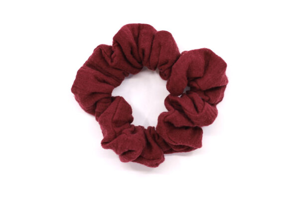 scrunchie-bordeaux