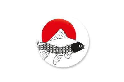 magnetbutton goldfisch
