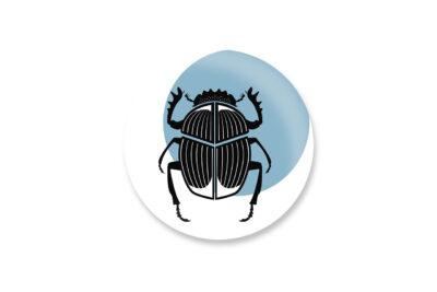 magnetbutton scarabaeus